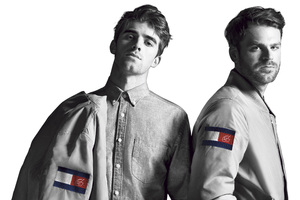 Andrew Taggart And Alex Pall In Tommy Hilfiger