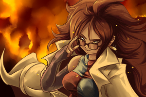 Android 21 Dragon Ball Fighterz