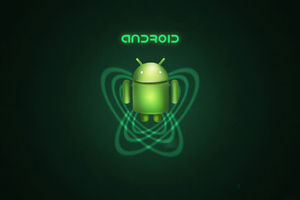 Android Green Robot 4k Wallpaper
