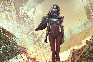 Androids Cyborg Girl 4k Wallpaper
