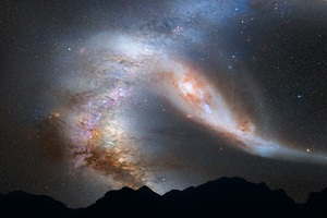 Andromeda Galaxy Milky Way Wallpaper
