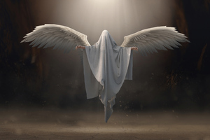Angel Cave God Wings