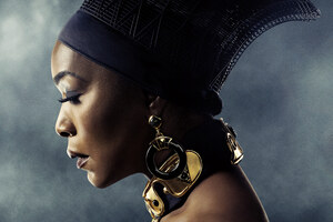 Angela Bassett In Black Panther Poster 5k