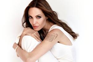 Angelina Jolie 2019 5k Wallpaper