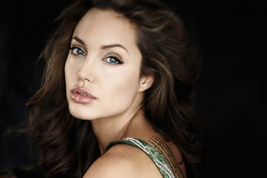 Angelina Jolie 4kphotoshoot Wallpaper