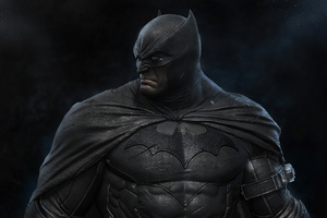 Angry Hunk Batman 4k Wallpaper