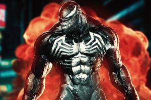 Angry Venom Wallpaper