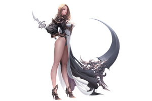 Anime Elf Fantasy Artwork 4k