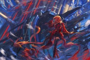 Anime Fantasia Girl 4k