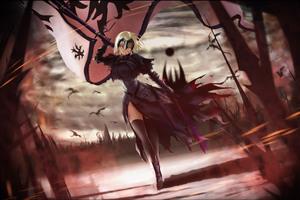 Anime Fate Grand Order 4k Wallpaper