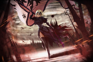 Anime Fate Grand Order 4k