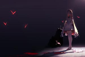 Anime Girl Devil Eyes