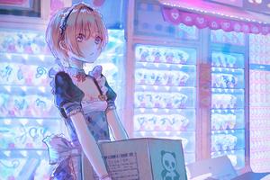 Anime Girl Maid 4k