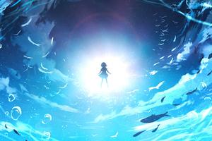 Anime Girl Original Art 4k Wallpaper