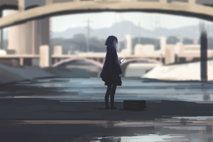 Anime Girl Original Art
