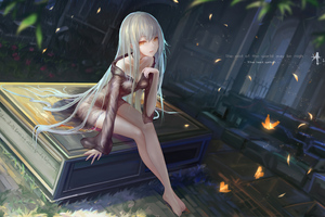 Anime Girl The Last Witch Wallpaper