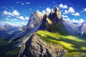 Anime Landscape 4k