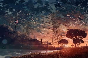 Anime Landscape Wallpaper