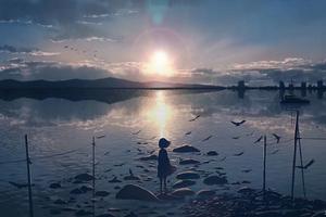 Anime Moescape Alone 4k