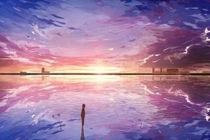 Anime Original Art 4k Wallpaper