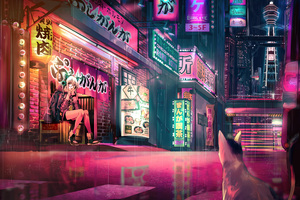 Anime Original Pink
