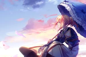 Anime Violet Evergarden Art