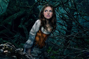 Anna Kendrick As Cinderella Wallpaper