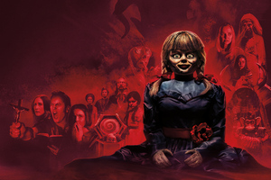 Annabelle Comes Home 2019 5k Wallpaper