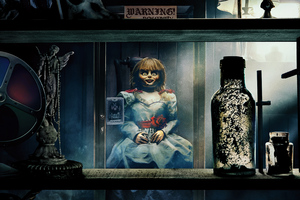 Annabelle Comes Home 2019 8k Wallpaper