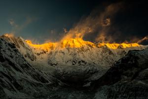 Annapurna Mountains Nature Landscape 5k
