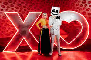 Anne Marie And Marshmello Wallpaper