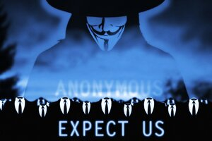 Anonymous Expect Us Wallpaper