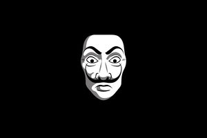 Anonymus Black Dark Minimal 4k