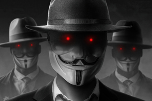 Anonymus Boys Wallpaper