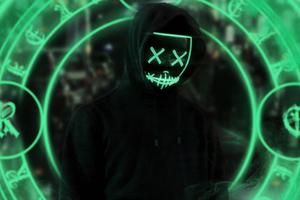 Anonymus Guy Chakra 4k