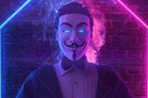 Anonymus Man 4k