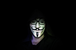 Anonymus Mask Guy 5k Wallpaper