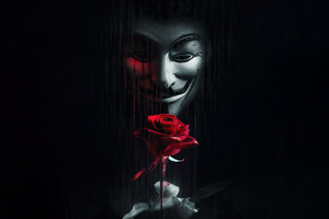 Anonymus Rose For You Wallpaper