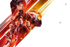 Ant Man And The Wasp 12k Wallpaper