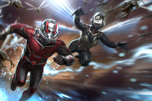 Ant Man And The Wasp Movie Concept Art Wallpaper