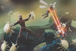Ant Man And The Wasp Movie Concept Artwork