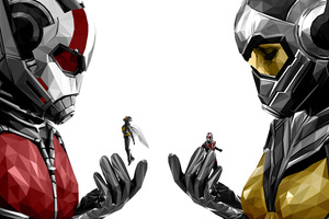 Ant Man And The Wasp Movie Poster 4k Wallpaper