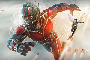 Ant Man And Wasp Marvel Contest Of Champions Wallpaper
