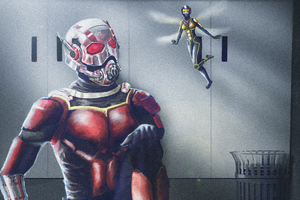 Ant Man And Wasp Wallpaper
