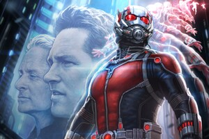 Ant Man Artwork Wide Wallpaper
