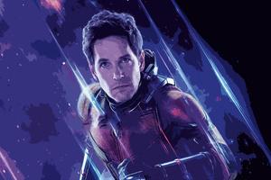 Ant Man Avengers Endgame Wallpaper