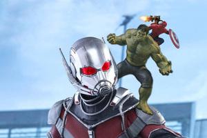 Ant Man Hulk Spiderman Rocket Baby Groot 5k Wallpaper