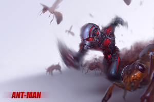 Ant Man4k Wallpaper
