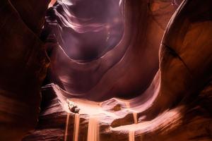 Antelope Canyon Lights 5k Wallpaper