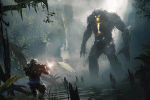 Anthem Golem Concept Art 4k Wallpaper